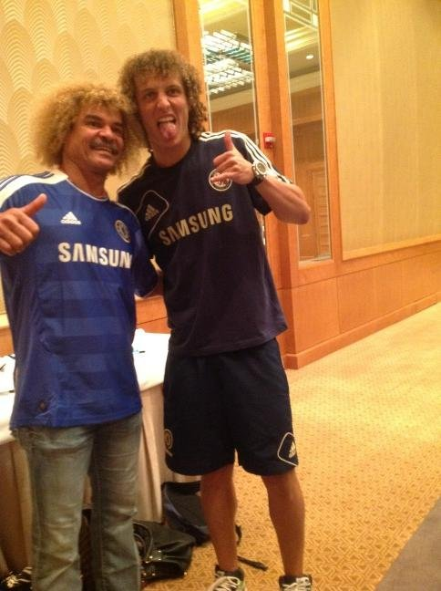 Luiz and Valderrama