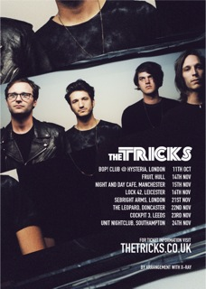 The Tricks November 2012 tour