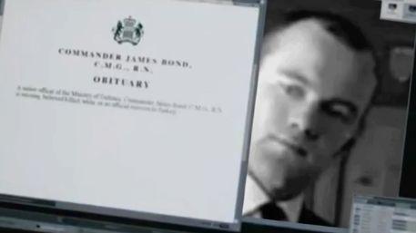 Wayne Rooney as James Bond in Awfall, spoof of Bond film Skyfall