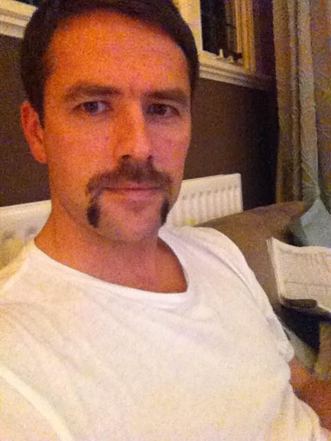 Michael Owen's magnificent Movember moustache - tweeted update