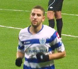 QPR midfielder Adel Taarabt