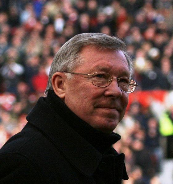 Red Devils boss Sir Alex Ferguson