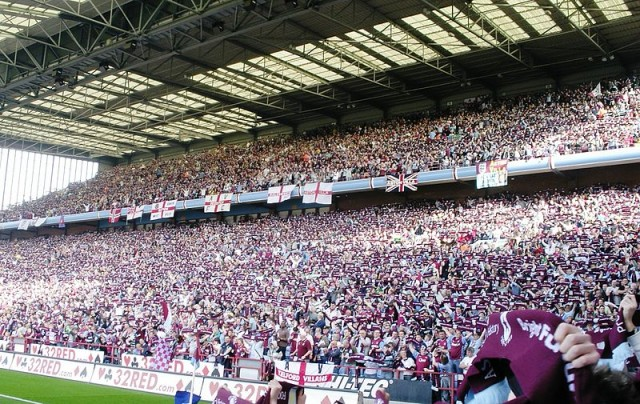 The Holte End at Villa Park