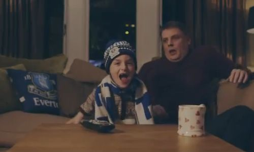 Everton's Christmas ad - Wishing for a True Blue Christmas
