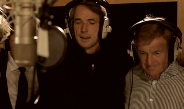 Alan Hansen and Kenny Dalglish sing on the 2012 Hillsborough charity single: Justice Collective - He Ain't Heavy, He's My Brother