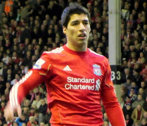 Luis Suárez, whose handball helped Liverpool beat Mansfield Town in the FA Cup