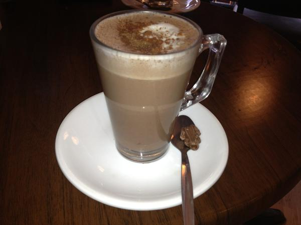 David Silva's hot chocolate