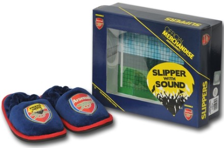 Arsenal crowd sound slippers