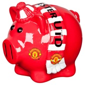 Manchester United Scarf Pig