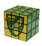 Norwich City puzzle cube