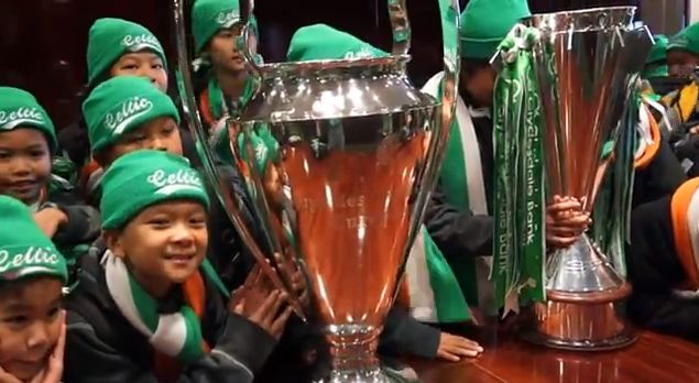 "The Thai Tims with ""The Big Cup"""