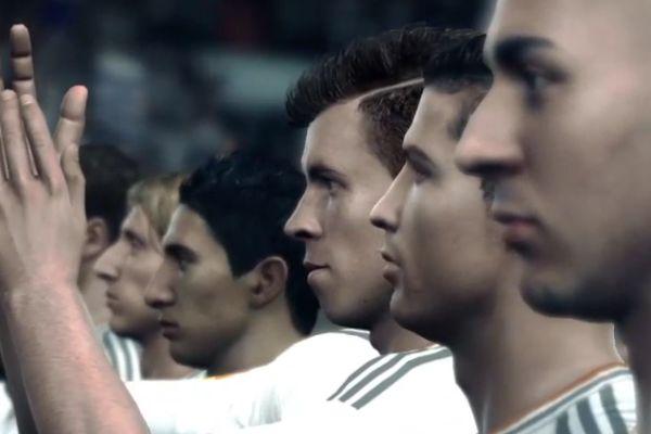 Real Madrid's Gareth Bale on FIFA 14