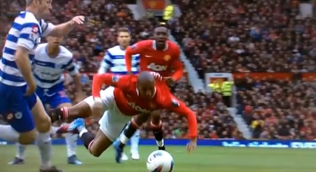 Our top 6 Ashley Young dives include this one against QPR