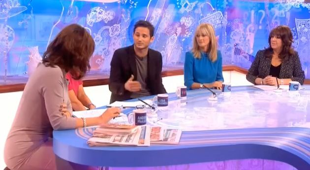 Frank Lampard on Loose Women