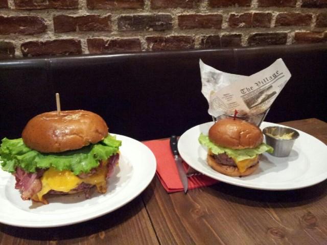 'Le Zlatan', the Ibrahimović burger on the menu at French restaurant