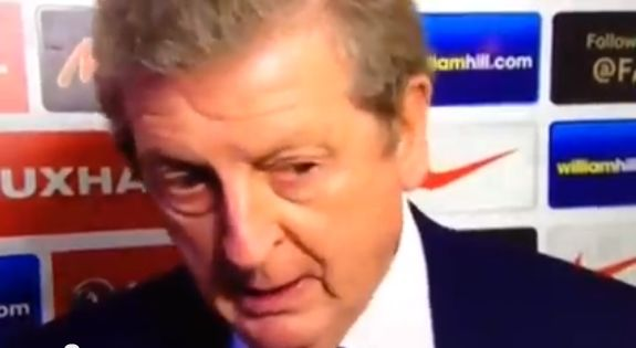 The Roy Hodgson Frank pun in action