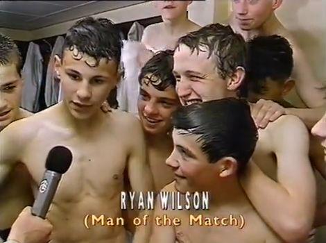 Ryan Giggs in the Granada Schools Cup final 1988