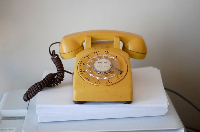 The Mike Riley phone calls might have been conducted on something like this