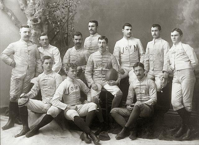 19th century football team