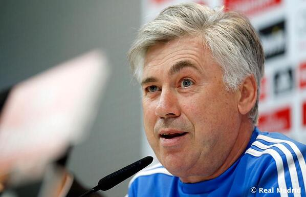 Carlo Ancelotti, subject of one of our Tweets of the Week