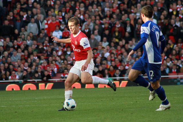 Jack Wilshere of Arsenal