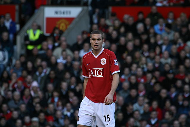 The subject of the Nemanja Vidić jokes after the Manchester United captain announced he would leave the club at the end of the season