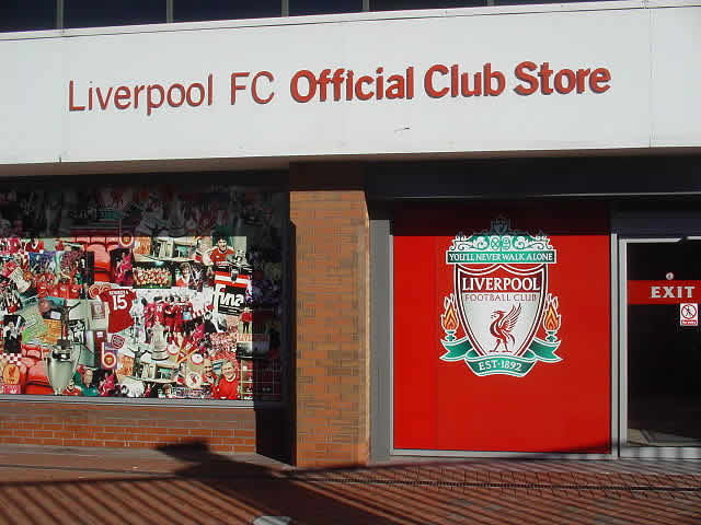 They won't sell the best Liverpool jokes after the 3-2 Manchester City win at the club shop