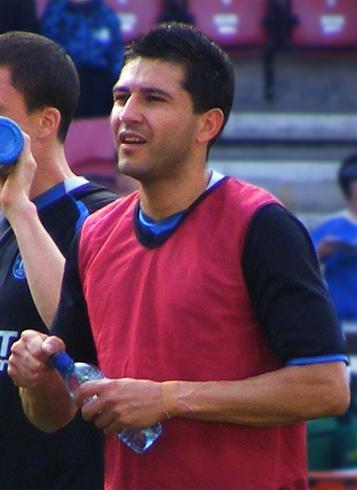 Antolín Alcaraz, scorer of one of the Everton own goals v Southampton