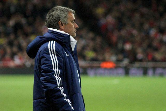 No Mourinho PSG celebration from the manager here