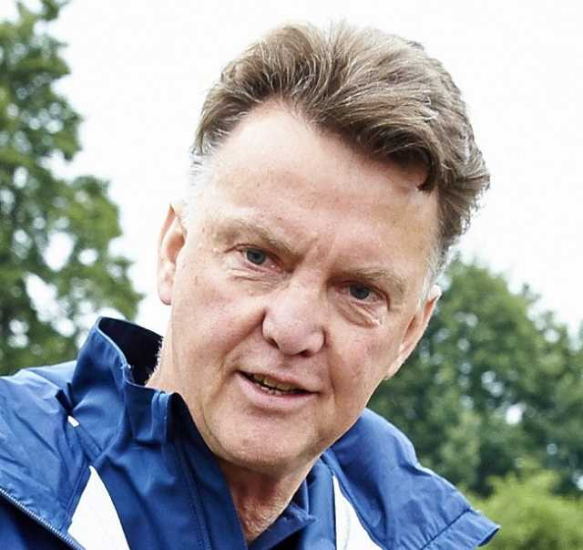 Louis van Gaal videos, starring this guy