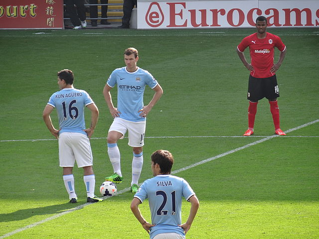 Edin Džeko and Sergio Agüero, two of our Fantasy Football Tips for group stage strikers