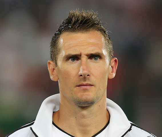 Miroslav Klose, inspiration behind the Miroslav Klose World Cup record