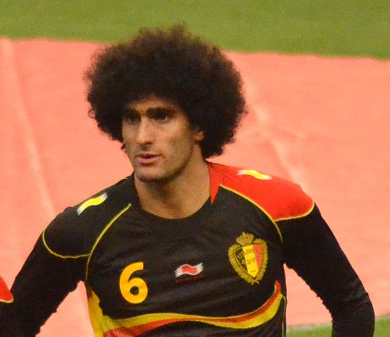 Marouane Fellaini winner jokes rolled in after his astounding late goal in a pre-season friendly against Valencia
