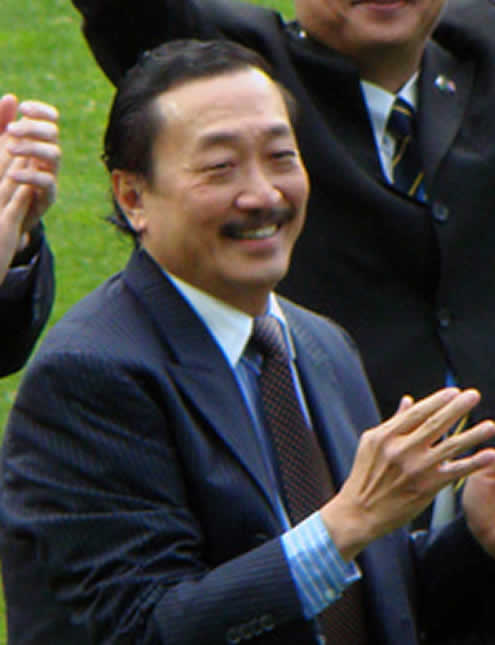 Cardiff chairman Vincent Tan before his masterful move of revealing the Iain Moody and Malky Mackay texts