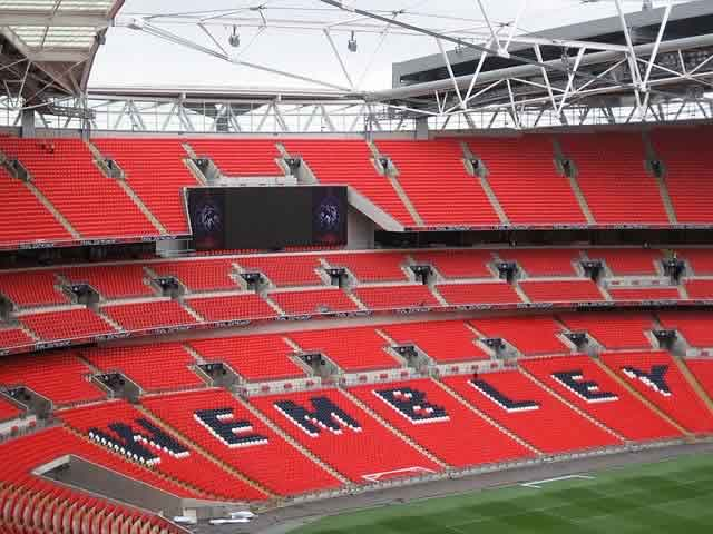 The jokes from England v Norway could not be heard by a half empty Wembley Stadium for the friendly match