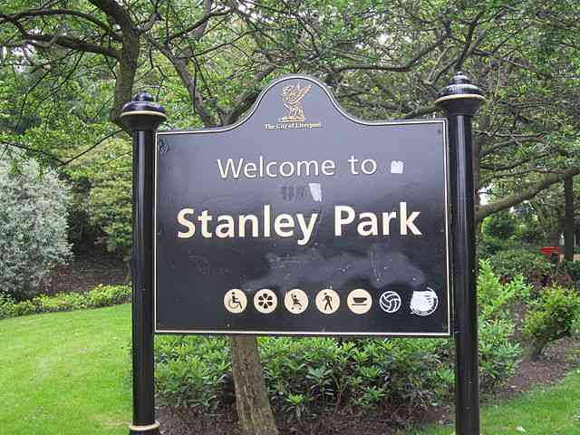 Stanley Park, eventual destination of friendly derby stock footage audition entrants