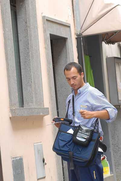 Italian postman