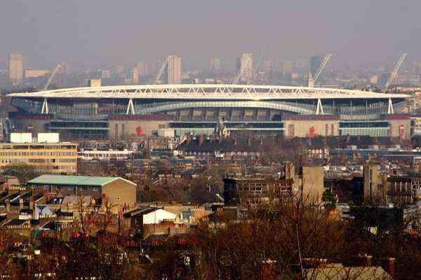 Emirates Stadium, scene of some classic Arsenal capitulations