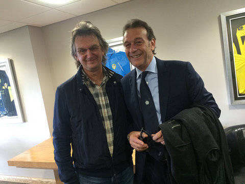 Massimo Cellino videos feature this guy