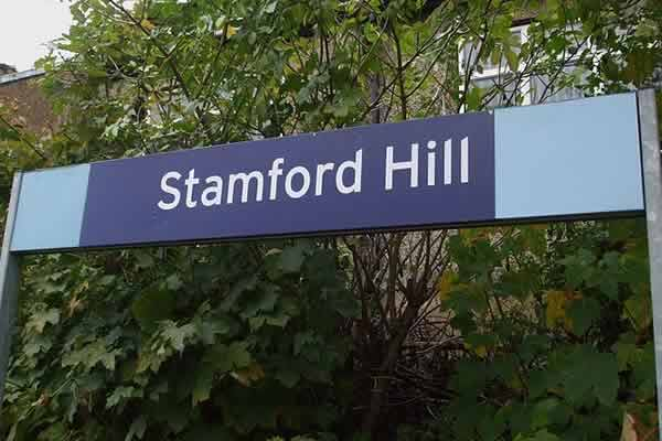 Stamford Hill station, where the West Ham fans sing anti-Semitic song on Tube video was reportedly filmed