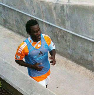 Ade Akinibiyi, scorer of one of our top ten long-awaited goals