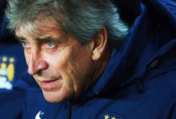 Manuel Pellegrini will look ever more tired once he's done reading the Man City jokes following their 2-1 defeat to Crystal Palace