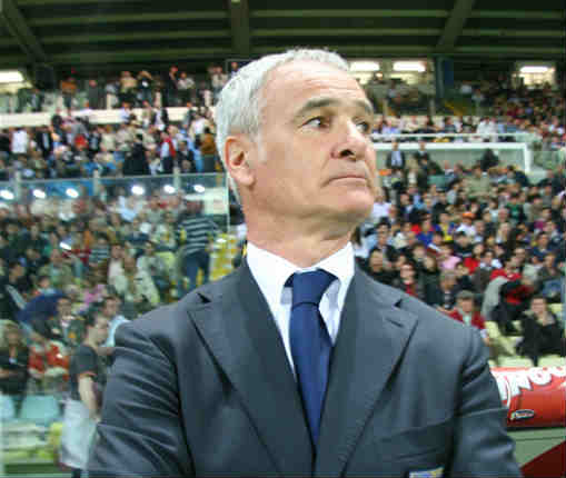 New Leicester City manager Claudio Ranieri