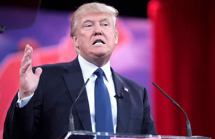 Donald Trump's Mexico remarks have been used in TV ad by a Mexican TV channel, promoting the clash with USA