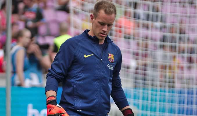 There were Marc-André ter Stegen jokes after the Barca keeper was caught out by Roma defender Florenzi's long-range lob