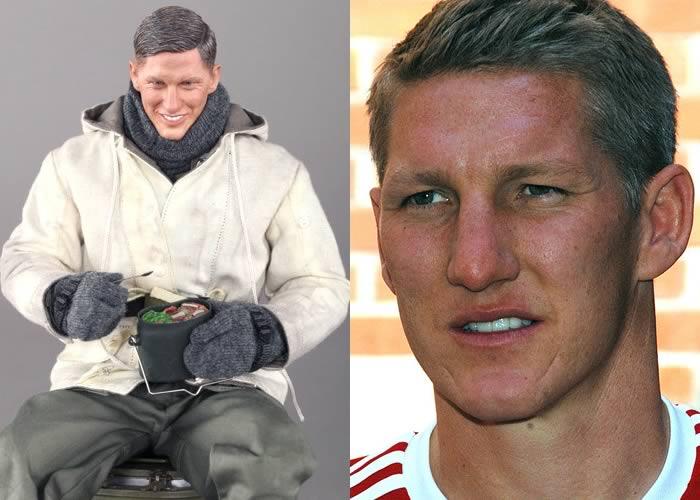 The Bastian World War Two doll does look a lot like Schweinsteiger