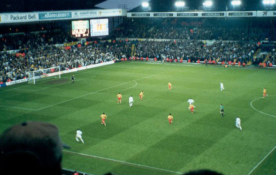 Leeds v Galatasaray, 2000, back when supporting Leeds was good