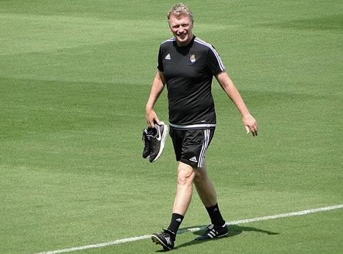 Thankfully there weren't too many David Moyes jokes after his sacking as manager of Real Sociedad