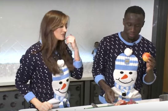Bacary Sagna making an apple crumble is one of this year's best Premier League Christmas videos this