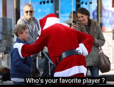 Hatem Ben Arfa as Santa